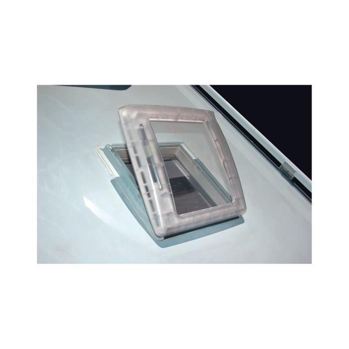 THULE Lanterneau Omnivent à manivelle avec extracteur - Translucide