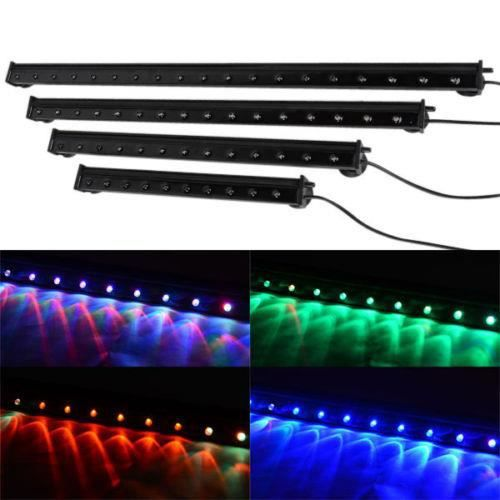tube rampe led 45cm etanche 220v aquarium couleurs achat vente clairage tube rampe led 45cm. Black Bedroom Furniture Sets. Home Design Ideas