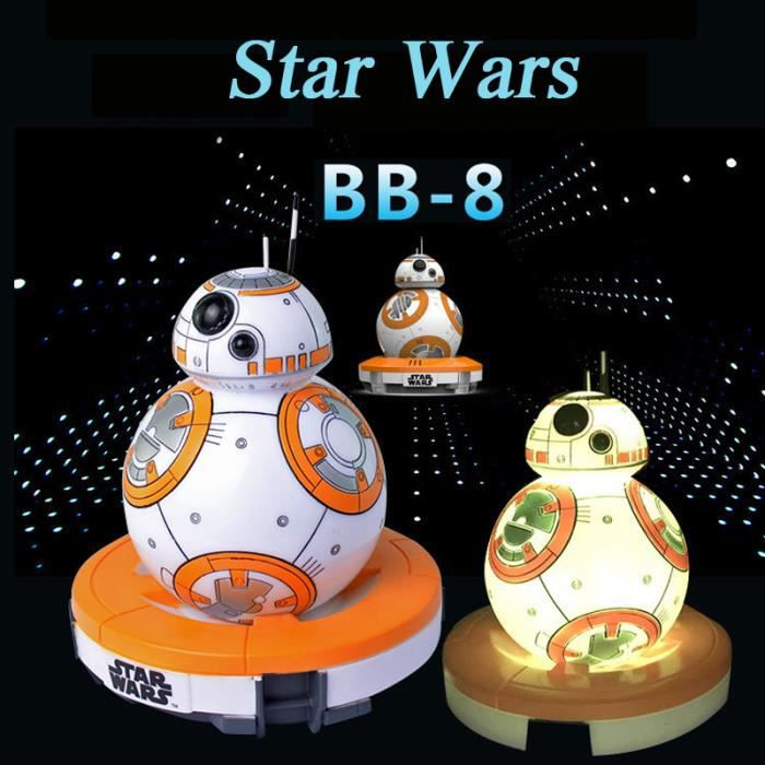 lampe star wars bb8 achat vente lampe star wars bb8 pas cher cdiscount. Black Bedroom Furniture Sets. Home Design Ideas