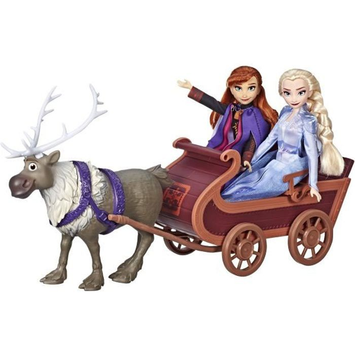 FIGURINE - PERSONNAGE Disney La Reine des Neiges 2 - Poupées Elsa, Anna