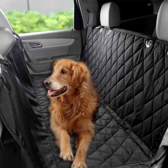 housse de si ge de voiture de chien tanche noir achat vente tapis de transport housse de. Black Bedroom Furniture Sets. Home Design Ideas