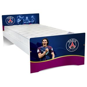 STRUCTURE DE LIT Lit enfant Football 90x190 bois