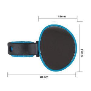 KENANLAN 2 pcs r/étroviseurs de Bicyclette Miroir de Guidon Rotatif Universel de 360 ??degr/és pour Le v/élo de Route