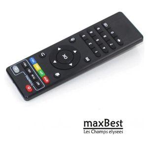 TÉLÉCOMMANDE TV pour MXQ Android Smart TV Box KODI IPTV telecomman