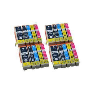 CARTOUCHE IMPRIMANTE Pack de 20 cartouches d encre EPSON compatible T26