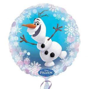 BALLON DÉCORATIF  Ballon Olaf la Reine des Neiges Disney hélium