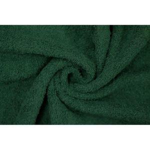TISSU Tissu Éponge Bulky Vert -Au Mètre