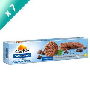 BISCUITS SECS GERBLE Cookies aux pépites de chocolat et cacao -