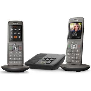 Téléphone fixe Gigaset CL660A Duo - Téléphone fixe sans fil - Rép