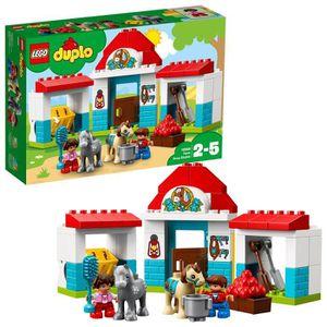 ASSEMBLAGE CONSTRUCTION Lego Duplo Ville Blocks Ferme poney construction s