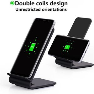 chargeur induction pour iphone8 iphone x samsung note8. Black Bedroom Furniture Sets. Home Design Ideas