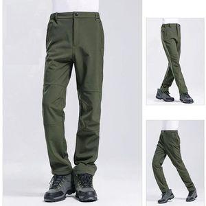 PANTALON - SHORT DE MONTAGNE Pantalon Softshell Homme Femme Hiver Outdoor Imper