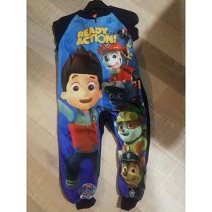 PYJAMA pyjama polaire combinaison pat patrouille