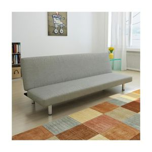 banquette futon achat vente banquette futon pas cher cdiscount. Black Bedroom Furniture Sets. Home Design Ideas