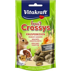 FRIANDISE VITAKRAFT Fruit Crossys fruits tropicaux - Pour ro