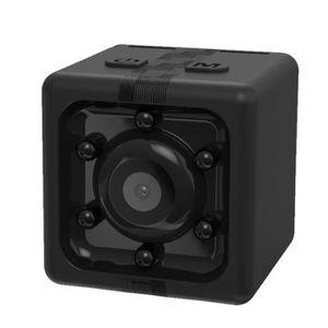 CAMÉRA DE SURVEILLANCE Mini caméra de surveillance noir 1080P enregistreu