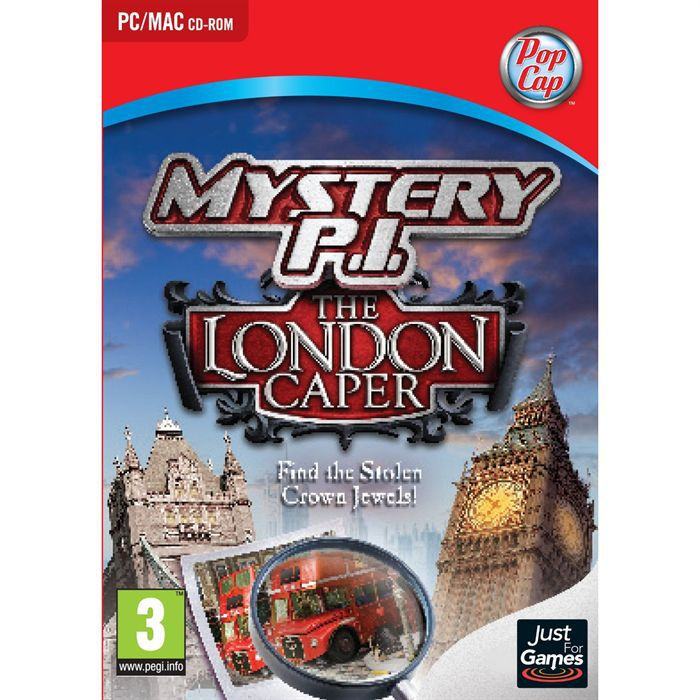 JEU PC MYSTERY PRIVATE INVESTIGATION THE LONDON CAPER/ PC