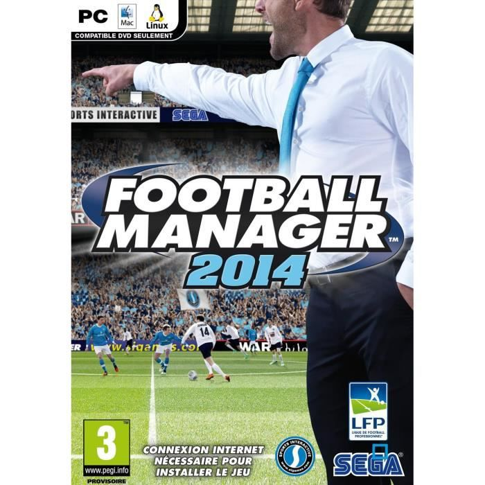 JEU PC Football Manager 2014 Jeu PC