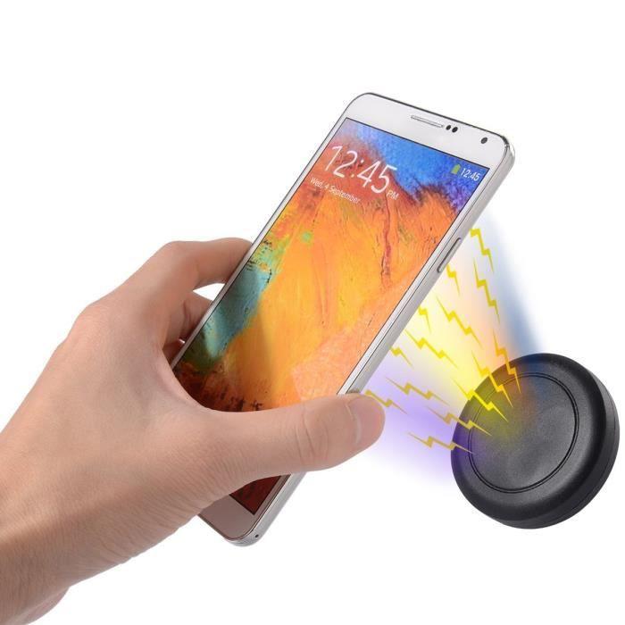 Support magnétique téléphone portable.