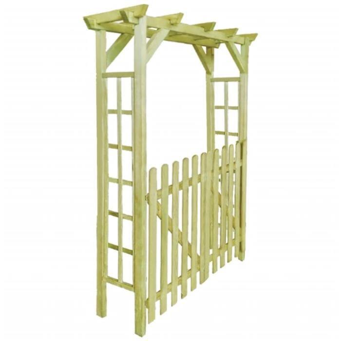 Arche pour rosiers Arche de jardin Pergola de jardin pour roses plantes grimpantes soutien voûte d'entrée Décoration de jard 150 x