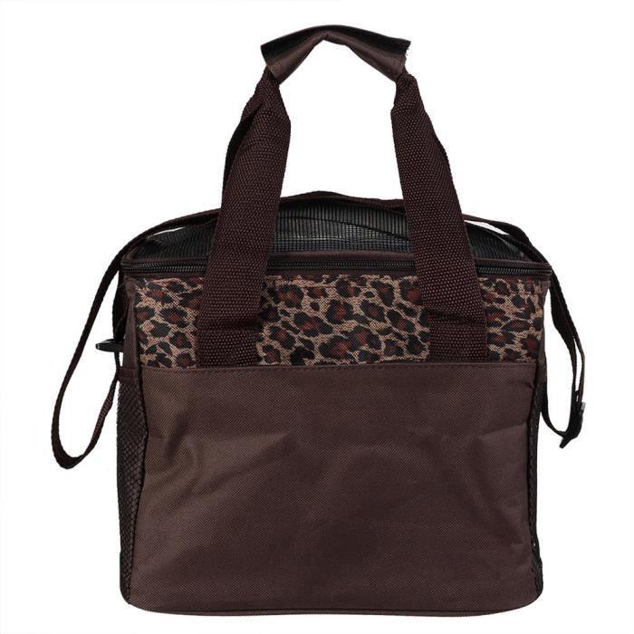 HURRISE sac à main de voyage pour animaux de compagnie Carré Pliable Portable Respirant Pet Petit Animal Sac De Transport Sac À