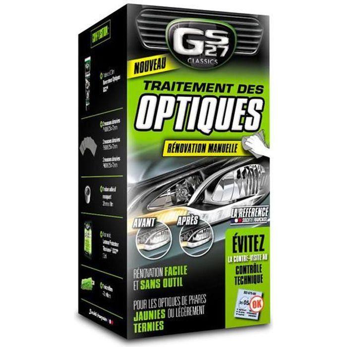GS27 Traitement des Optiques - Renovation Manuelle - 10 pièces