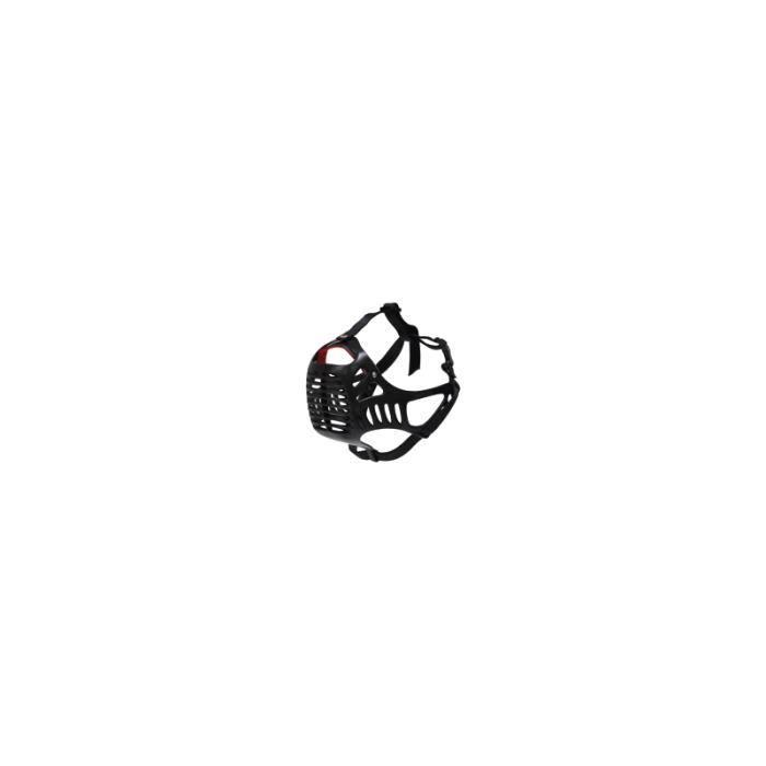 Muselière pour molosse Noir