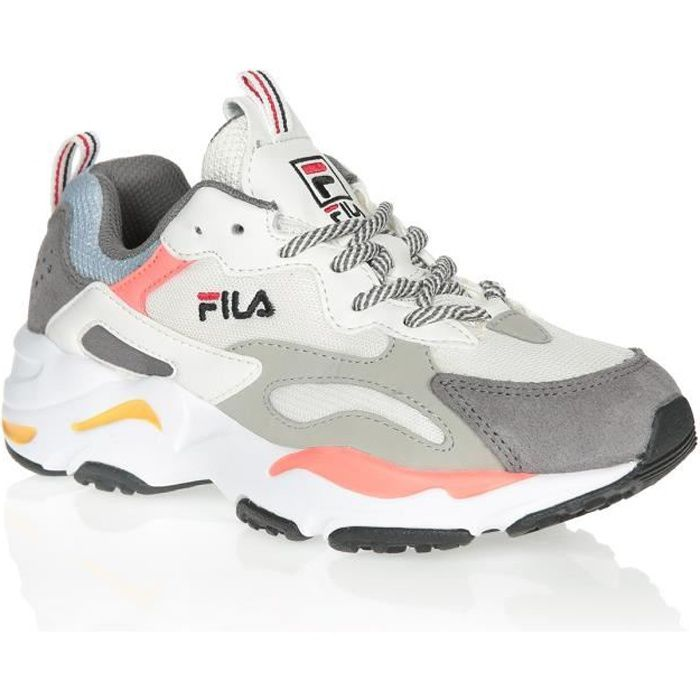 FILA Baskets Ray Tracer WMN Marshmallow/Sugar Coral Femme