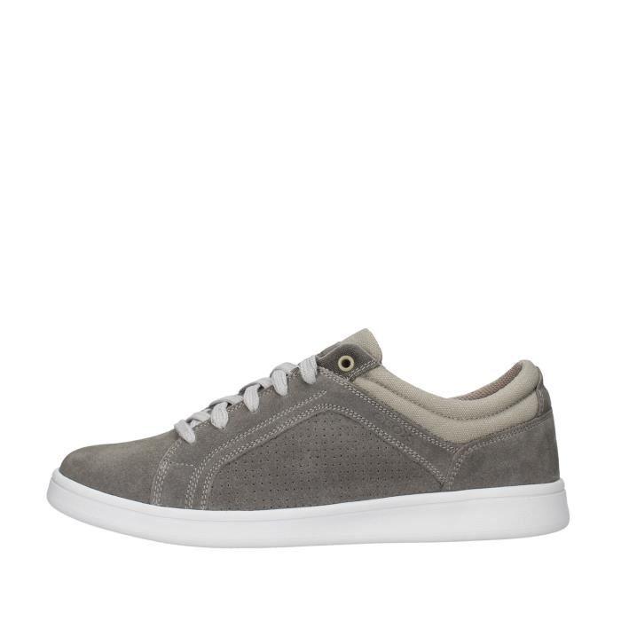 Geox U020LC00022 chaussures de tennis Homme GRIS