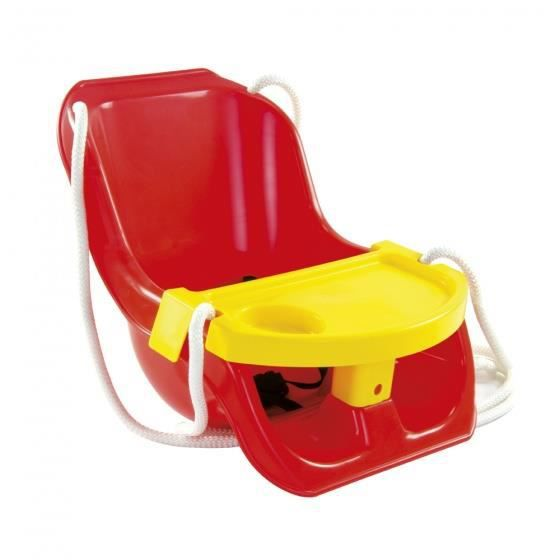 Paradiso Toys siège pivotant 2 en 1 rouge/jaune
