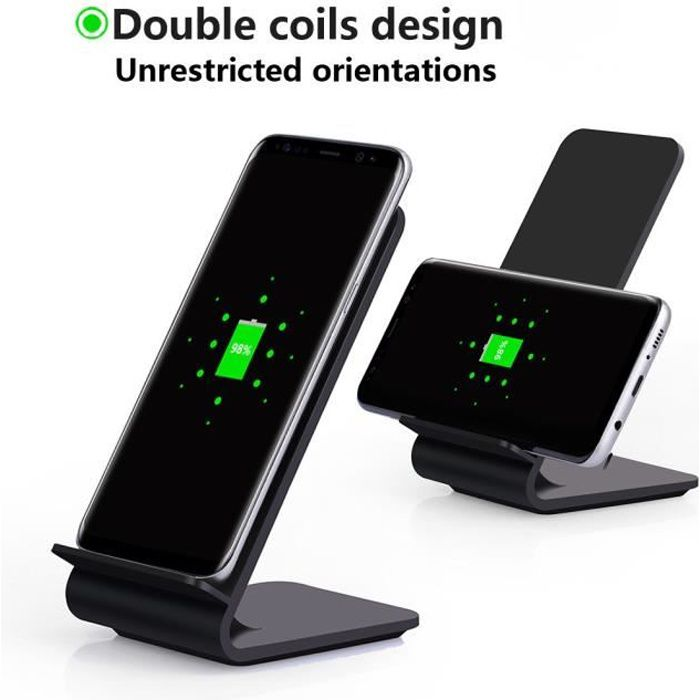 coque iphone x chargeur induction