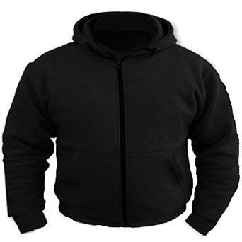 sweat shirt de moto capuche mati re polaire protection 100 kevlar certifi e ce achat. Black Bedroom Furniture Sets. Home Design Ideas