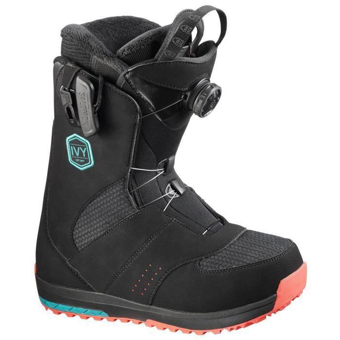 SALOMON Ivy Boa Sj Boots Snowboard Femme Taille 24.5