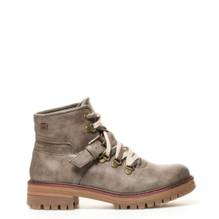 Mustang - Terry bottes taupe OXGKAYGB