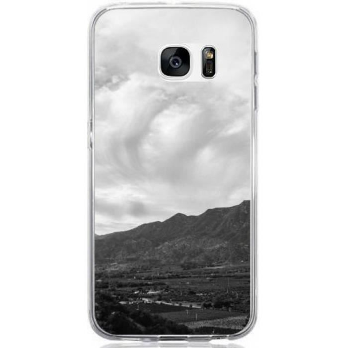 Coque Samsung Galaxy S7 - Paysage Montagne Village Vue - 2023 ...