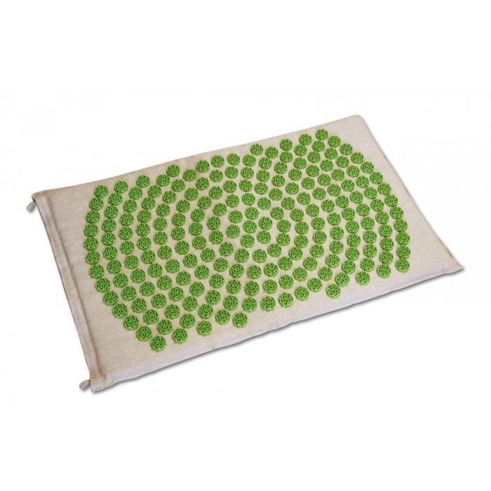 APPAREIL ACUPUNCTURE Tapis Fleur de Vie Shantimat - Vert
