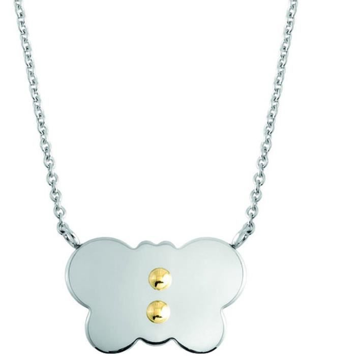 Nomination Collier Femme en acier inoxydable MyFriends 065120-003 1OF9QF