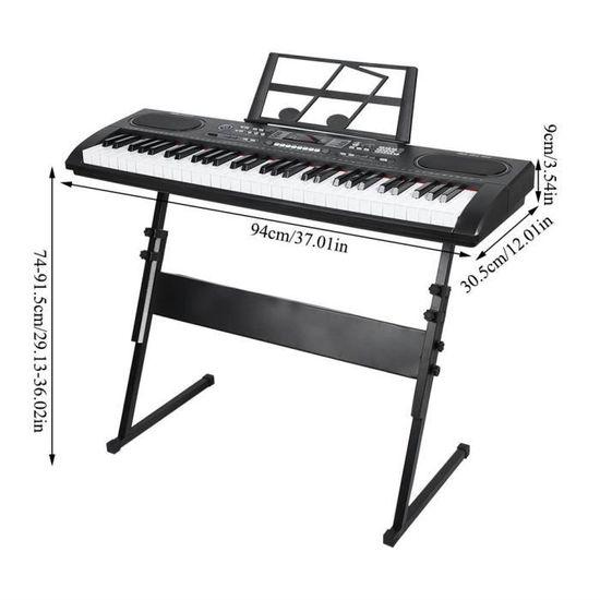 Piano Numérique Magicfun Piano 61 Touches Portable Enfants Musique Clavier Él