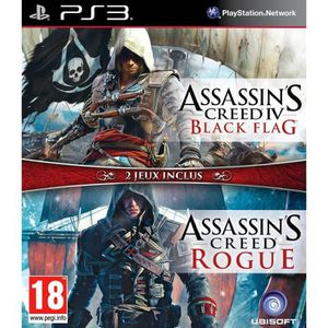 JEU PS3 Assassin's Creed 4 : Black Flag + Assassin's Creed