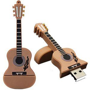 CLÉ USB 32 Go de mémoire flash guitare métal USB 2.0 Memor
