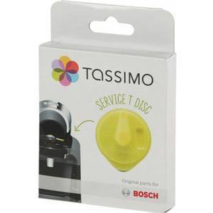 PIÈCE PETIT DÉJEUNER  T-Disc de service jaune avec code barres cafetiere