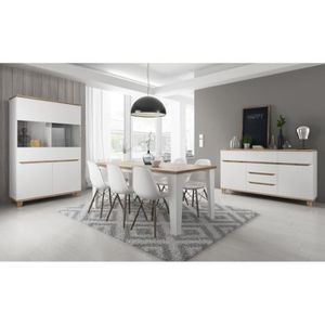 ensemble salon salle a manger achat vente ensemble salon salle a manger pas cher cdiscount. Black Bedroom Furniture Sets. Home Design Ideas