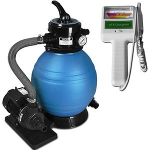 POMPE - FILTRATION  Pompe filtre à sable et particule 10200 l/h avec t