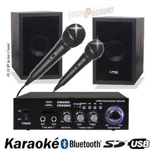 PACK SONO PACK KARAOKE KS22 / STAR2 AVEC AMPLI + ENCEINTES +