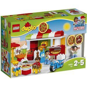 ASSEMBLAGE CONSTRUCTION LEGO® DUPLO® 10834 La Pizzeria - Jeu de Constructi