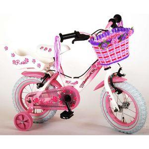 VÉLO ENFANT Vélo Enfant Fille 12 Pouces Volare Rose Freins sur