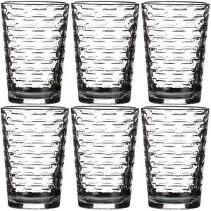 Verre à eau - Soda Set Lot 6 Verres A Eau Cocktail Collection Loft Ha