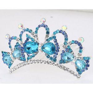LOVIVER Couronne Paillettes Princesse De Strass De Cristal Diad/ème Mari/ée Bandeau