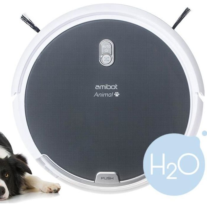AMIBOT Robot aspirateur Animal Comfort H2O