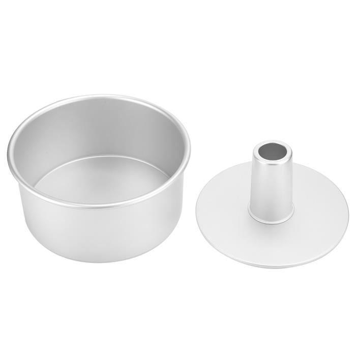 Alliage d'aluminium moule à gâteau rond antiadhésif moule de cuisson ustensiles de cuisine outil de cuisson bricolage